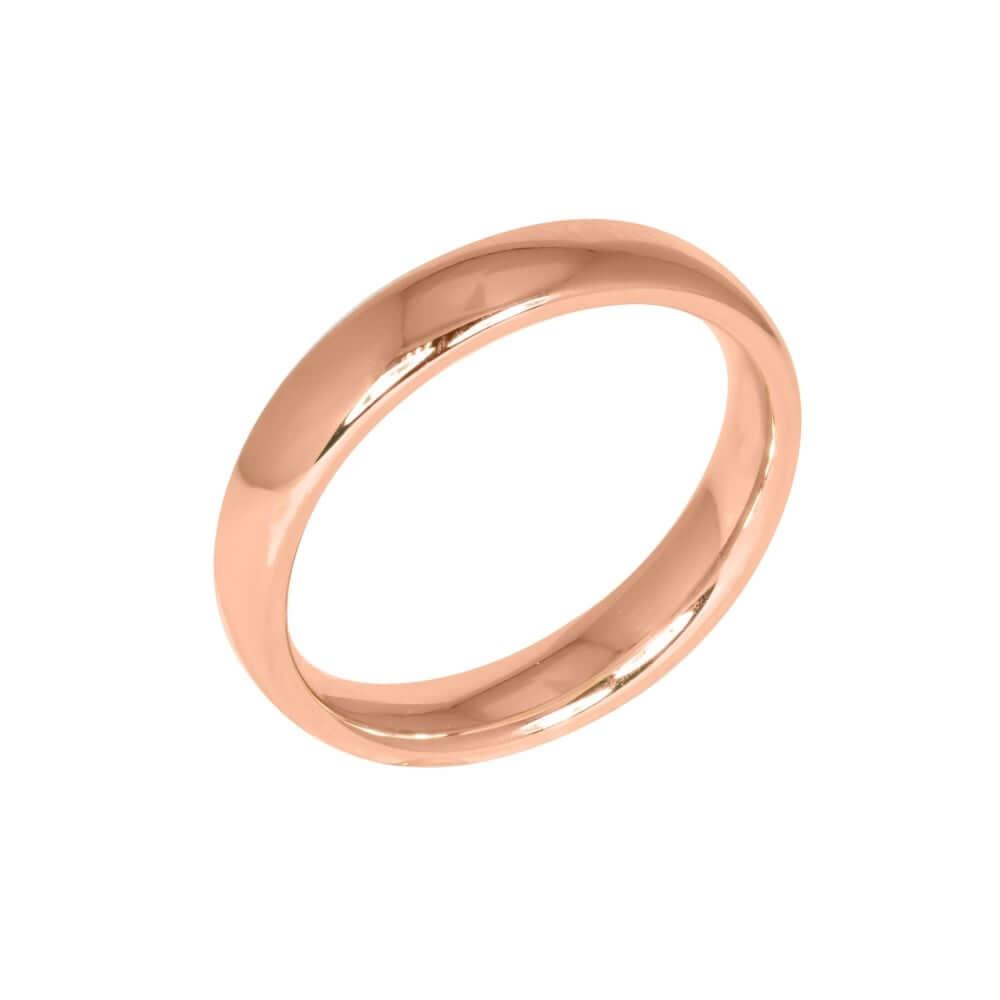 18ct Rose Gold 3mm Addewid Wedding Ring