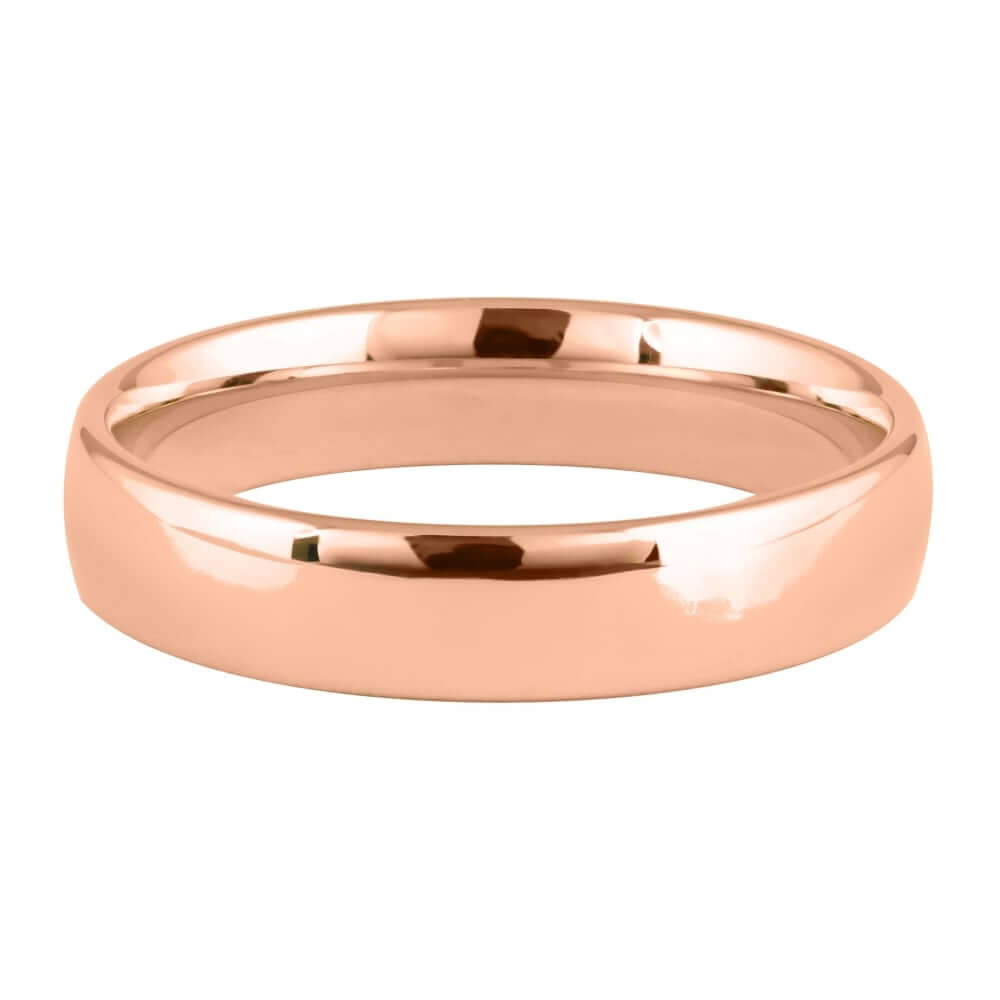 18ct Rose Gold 5mm Addewid Wedding Ring
