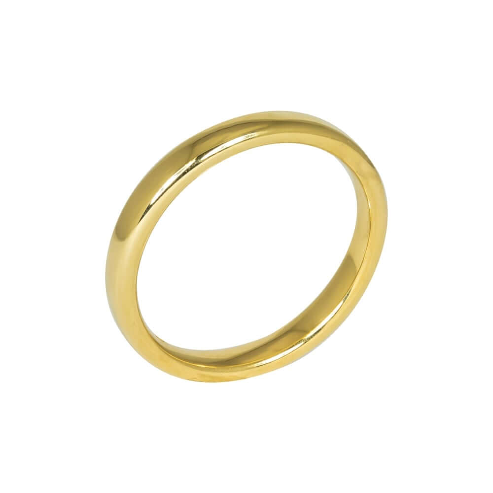 18ct Yellow Gold 3mm Addewid Wedding Ring