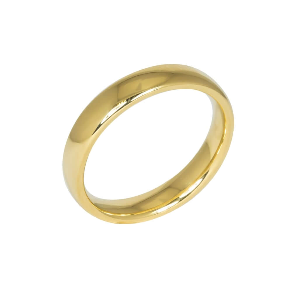 9ct Yellow Gold 4mm Addewid Wedding Ring