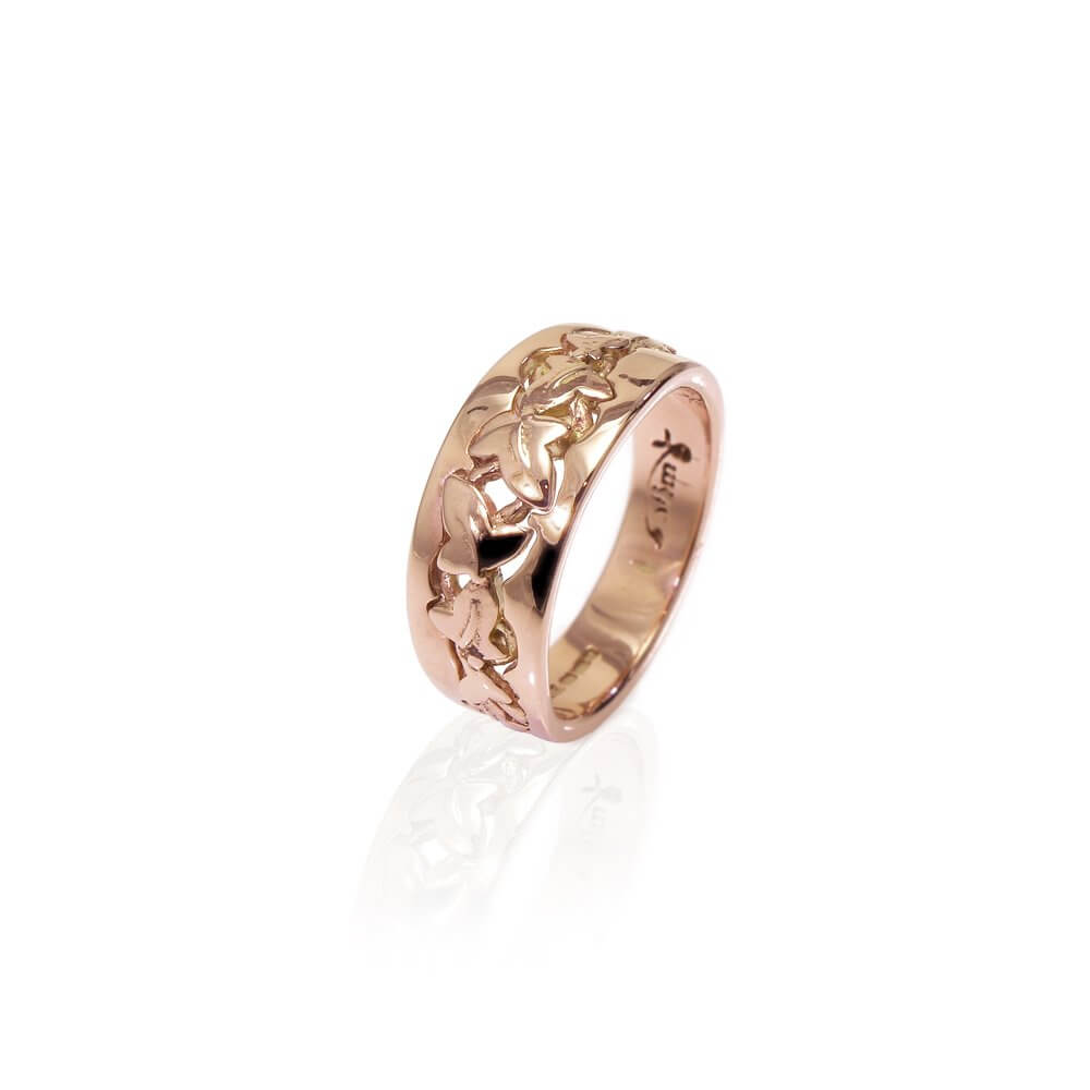 9ct Rose Gold Enchanted Ivy Ring