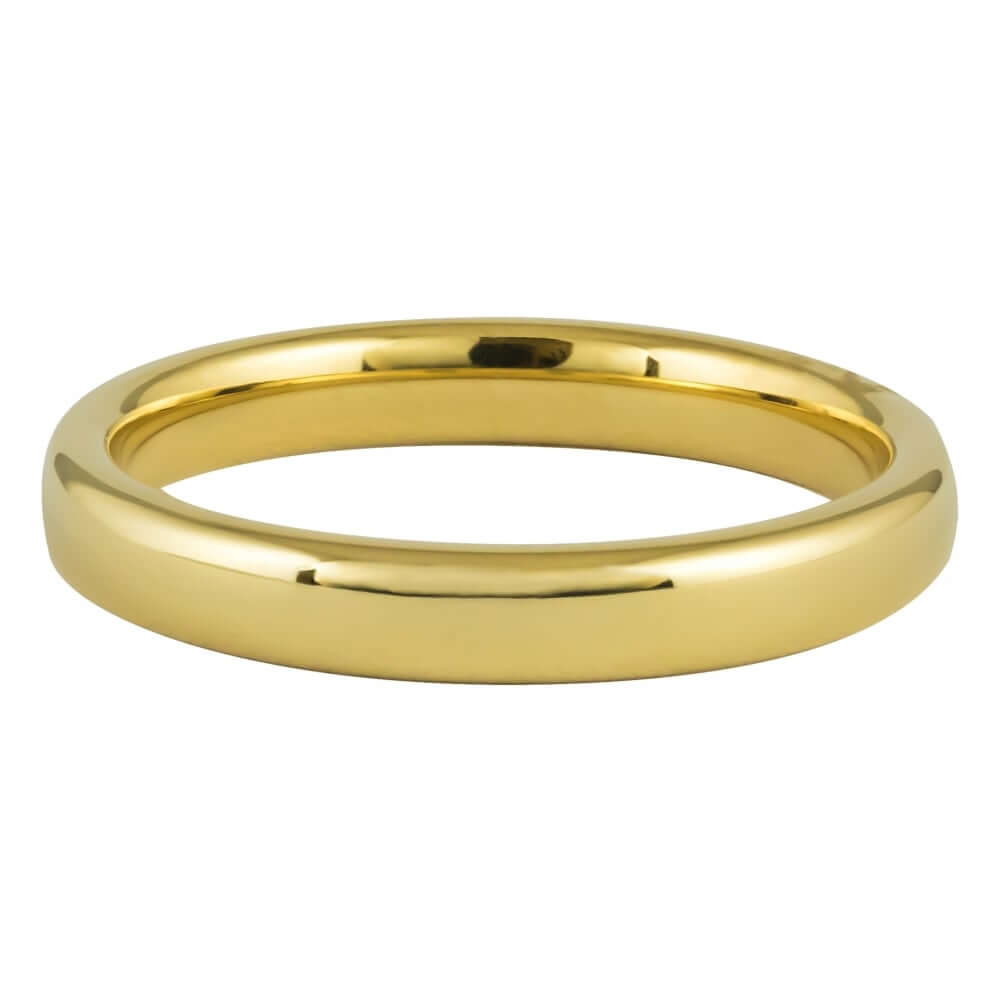 9ct Yellow Gold 3mm Addewid Wedding Ring