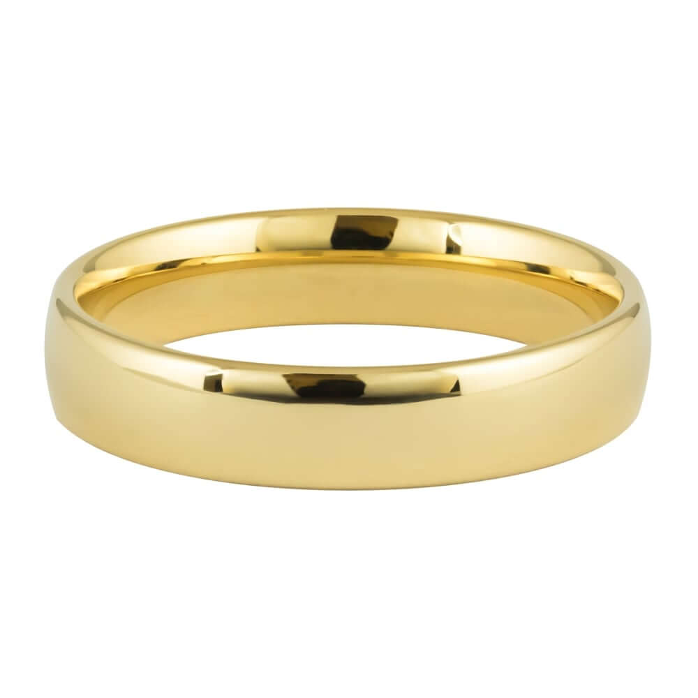 9ct Yellow Gold 5mm Addewid Wedding Ring