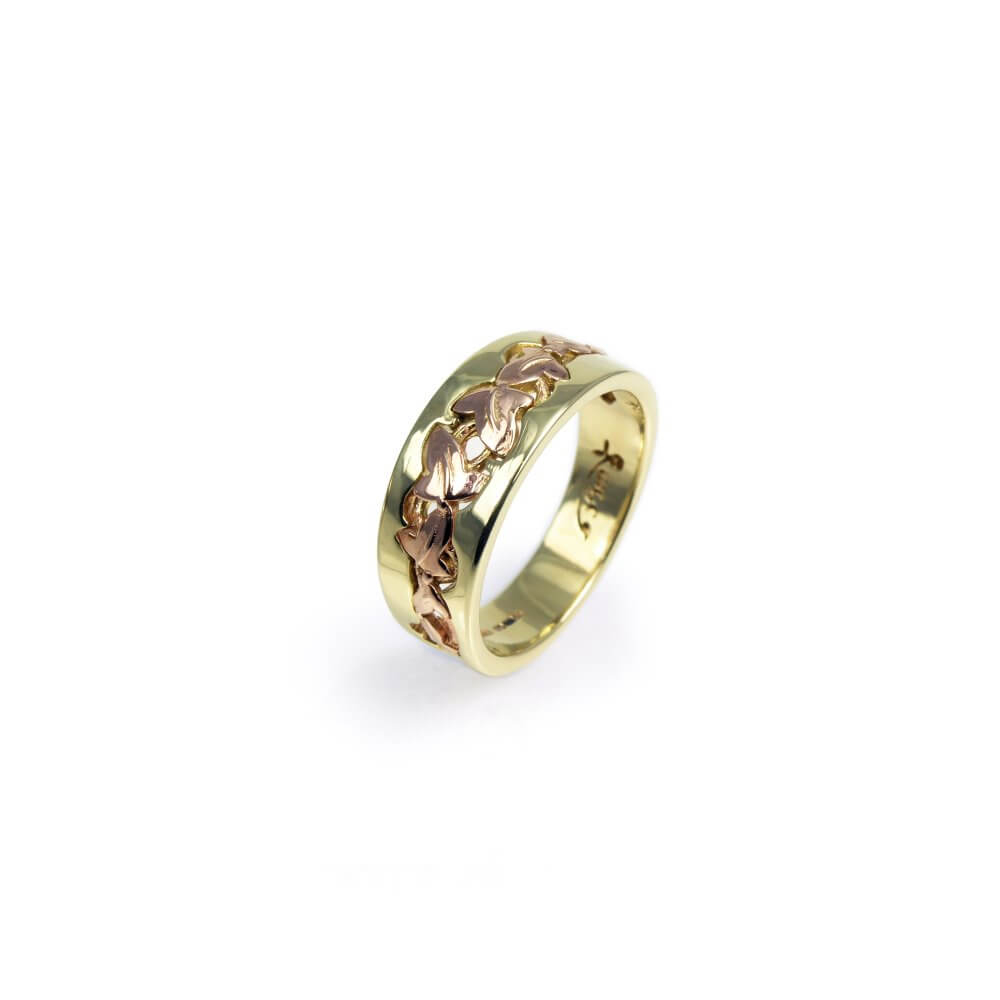 9ct Yellow & Rose Gold Enchanted Ivy Ring