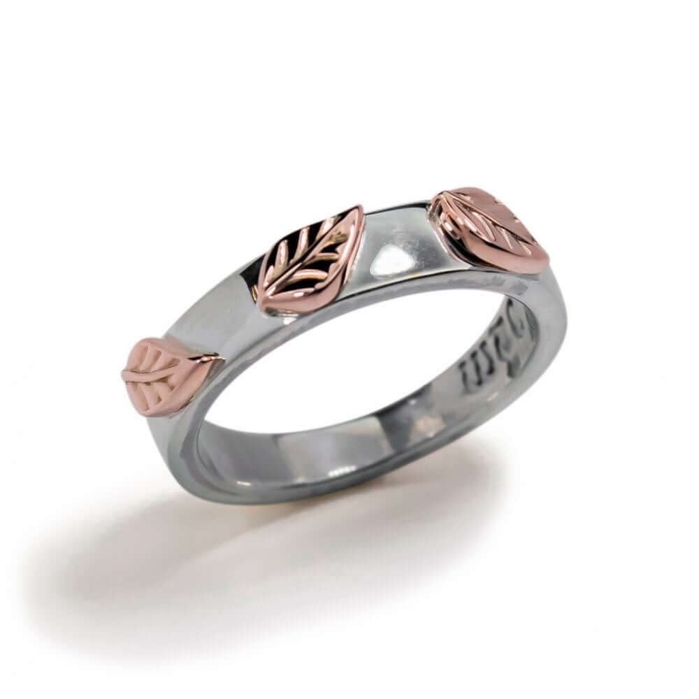 Silver & 9ct Rose Gold Autumn Dreams