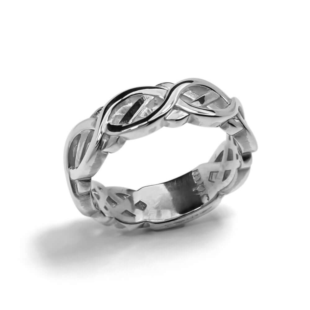 Silver Celtic Flow Ring